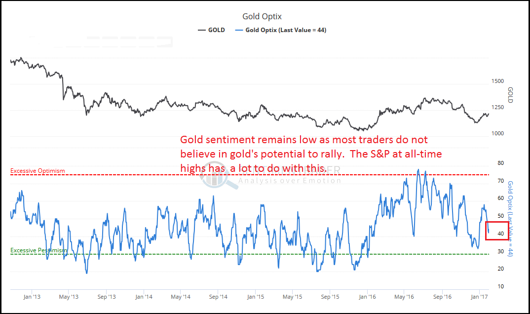 COT Report - Where are the Gold Bull - The Financial Tap
